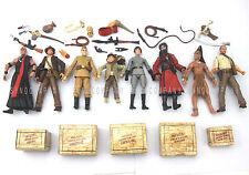 Gift 8 x Movie Indiana Jones Mola Ram WILLIE SCOTT Temple OF DOOM Action Figure