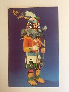Hopi Kachina Doll Unposted Postcard