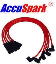 Ford Escort,Capri,Cortina,Fiesta  X-flow 8mm Silicone  Accuspark HT leads RED