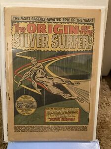 Silver Surfer #1 - Coverless, Otherwise Very Nice