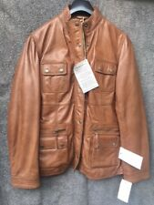 David Moore  Damen Lederjacke Jacke echtes Leder braun Größe 40