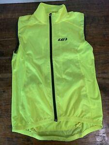 Louis Garneau Nova 2 Vest New with tags Medium Bright Yellow