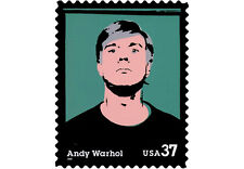 2002 37c Andy Warhol, Artist Scott 3652 Mint F/VF NH