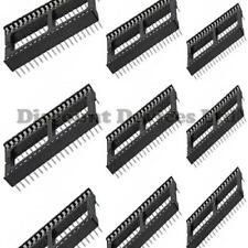 10x 40 Pin RoHS PCB IC Socket DIL/DIP 40 way 0.6""