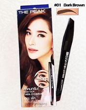 Mistine The Peak Eyeliner Tiara Eyebrow and Pencil Liner #01 Dark Brown