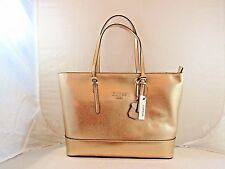 "GUESS nwt ""DECIMALS"" SHOULDER BAG, PURSE, FREE USA SHIPPING! in ROSE GOLD"