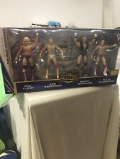 WWE Four Horsemen Hall of Fame 2012 figure box set SIGNED Barry Windham