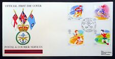 GB 1988 Sport FDC with special Handstamp voir ci-dessous NB742