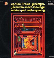 "VARIOUS ""GERMAN ROCK SCENE"" ORIG FR 1973 2 LPs w/ MESSAGE, JERONIMO"