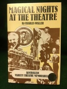 MAGICAL NIGHTS AT THE THEATRE by Charles Waller HB Ltd/#'d 1st/DJ magic history