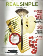 Real Simple Magazine - Life Made Easier - March 2010 - Beauty Buys That Work