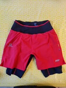 Salomon s lab 2 In 1 Trail Running Shorts Men's Large
