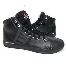 Reebok 010 CrossFit Lite TR Men's Powerlifting High Top Training Shoes 9.5 Black