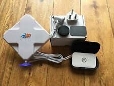 KIT 4 G MOBILE WIFI-HUAWEI e5573 + BOOSTER ANTENNA-CAMPER & Roulotte