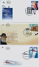 ISRAEL 2006 FDC YEAR SET COMPLETE W/ S/SHEETS SEE 9 SCANS