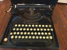 Antique L.C. Smith Corona Portable Typewriter