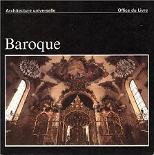 BAROQUE Architecture universelle Hans Scharoun + PARIS POSTER GUIDE