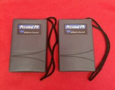 (2) Williams Sound PPA Personal PA FM Receiver Model R7