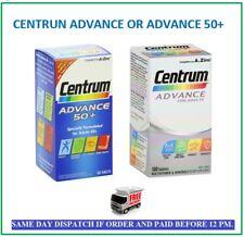 Centrum Advance A To Z Multivitamins Minerals Adult Formula Multi Vitamins 50+