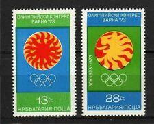 11158) BULGARIA 1973  2v MNH** Olympics