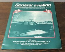 1979 General Aviation Dot/FAA Flight Operations Safety Publication Magazine