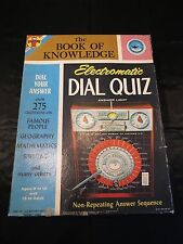 Jeu ! Boîte de Jeu ! Ancien ! Made USA ! Electromatic Dial Quiz ! 1961 ! J6