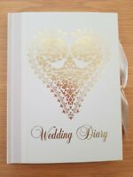 Love Doves Wedding Planner Book Vintage Diary Journal Organiser Engagement Gift