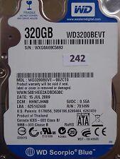 320gb Western Digital WD 3200 BEVT - 00zct0   hhntjhnb   2060-701499-005 REV p1 #242