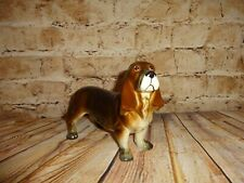 "Vintage Basset Hound Dog Figure Statue 8.5"" x 5.5"" Made in Japan"