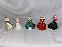 Lot of 5 Hallmark Keepsake Vintage Barbie Christmas Ornaments 1993-1998