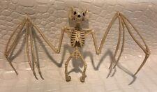 Halloween Hanging Vampire Bat Skeleton Bones Flying Decoration Shop Prop Display