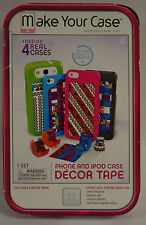 MAKE YOUR CASE SMARTPHONE & iPOD CASE DECOR TAPE KIT*iPOD 5,iPHONE*SAMSUNG++
