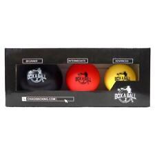 BoxABall Boxing Reflex Trainer Reaction Speed Ball MMA Training - Pack of Three