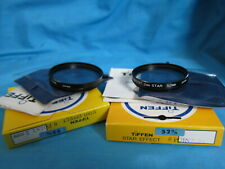 TIFFEN Star Effect Two Filters 52mm 6-Point & 8-Point 2mm -- Brand-new