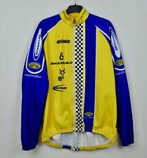BIO-RACER Jacket 8 Size 4XL Windproof Cycling Long Sleeve Full Zip Shirt Jersey