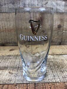 Guinness 16oz Pint Gravity Glass Beer Embossed HarpBeer Glass