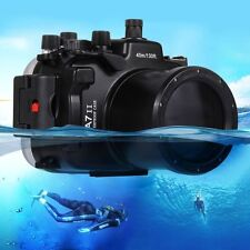 PULUZ 40m Underwater Waterproof Housing Diving Case For Sony A7 II A7R II A7S II