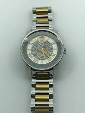 MOVADO Bold Silver Dial Two-tone Ladies Watch 3600256