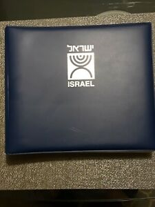 Israel FDC collection all stamps with tabs. binder 68 different covers total