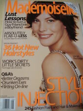 august 1999 Mademoiselle Liv Tyler on sexy cover