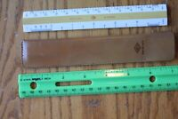 McCloskey-Grant BRUNING Scale N2092 Drafting Ruler W/LEATHER CASE sheath Vintage