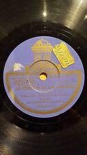 GERMAN 78 rpm RECORD Odeon ORQ LOS BOHEMIOS VIENESES La Princesa de las Czardas
