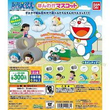 Doraemon Cute Desktop Figure Mascot 5pcs - Bandai   , #7ok