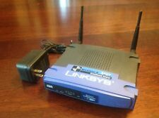 BEFW11S4 Linksys 2.4GHz 4-Port 10/100Base-T 802.11b Wireless-B Broadband Router