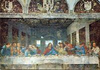 Alte Kunstpostkarte - Milano - Das Abendmahl von Leonardo da Vinci