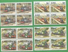 15 Sets of 1995 Ireland Stamps # 956 - 959 Cat Value $82 Train Railroad Railway