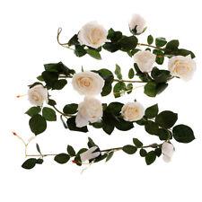Premium Rose Wedding Decoration Favor 180cm Large Artificial Flowers White