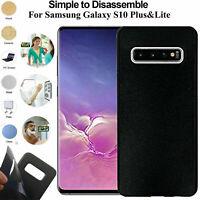 Anti Gravedad Funda Succión Pegajoso para Selfie Samsung Galaxy S10e S10 Plus