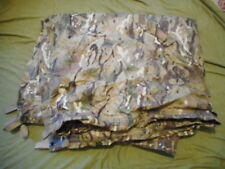 GENUINE ISSUE UK MTP MULTICAM xl BASHA SHELTER SHEET HOOTCH TENT WATERPROOF TARP