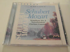 Vienna classics - Schubert Mozart - Clarinet Concerto (CD Album) Used Very Good